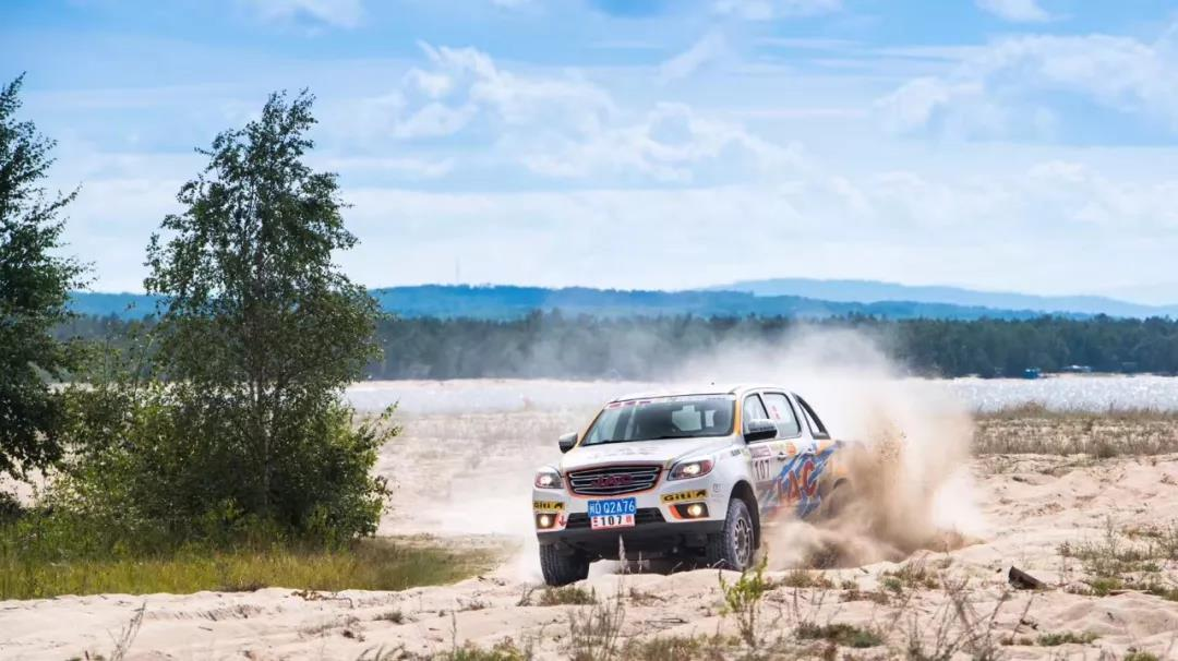 JAC Won Tri-Nation Cross-Country Rally With T6 Pickup 1