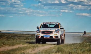 JAC Won Tri-Nation Cross-Country Rally With T6 Pickup 6