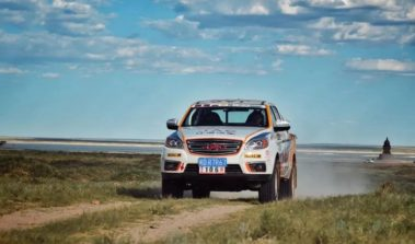 JAC Won Tri-Nation Cross-Country Rally With T6 Pickup 2