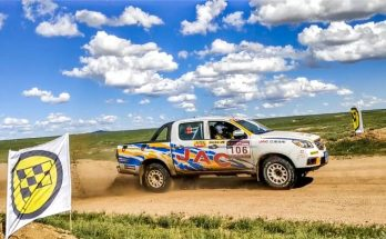 JAC Won Tri-Nation Cross-Country Rally With T6 Pickup 12