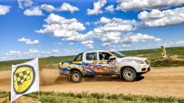 JAC Won Tri-Nation Cross-Country Rally With T6 Pickup 7