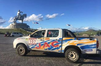 JAC Won Tri-Nation Cross-Country Rally With T6 Pickup 9