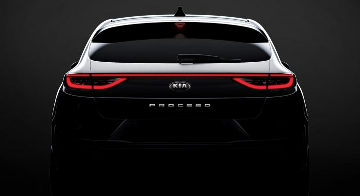 Kia ProCeed Teased Ahead of Paris Motor Show 1