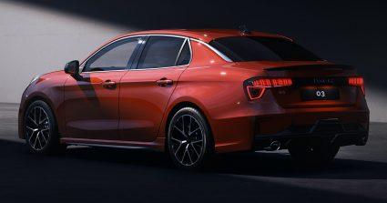 First Official Photos: Lynk & Co 03 Sedan 7