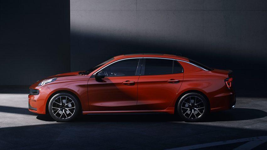 First Official Photos: Lynk & Co 03 Sedan 5