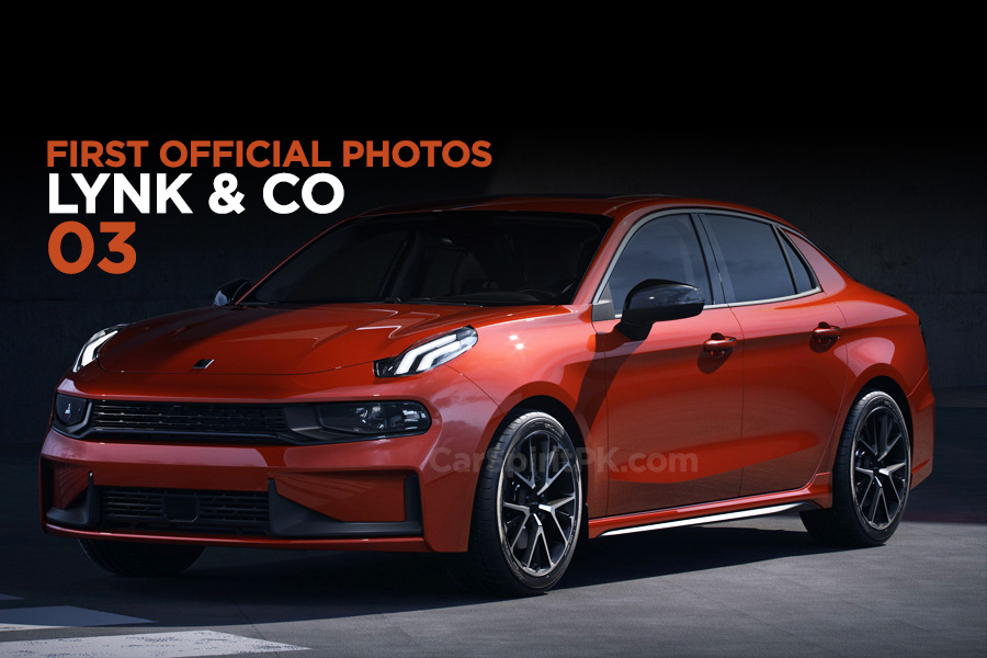 First Official Photos: Lynk & Co 03 Sedan 4