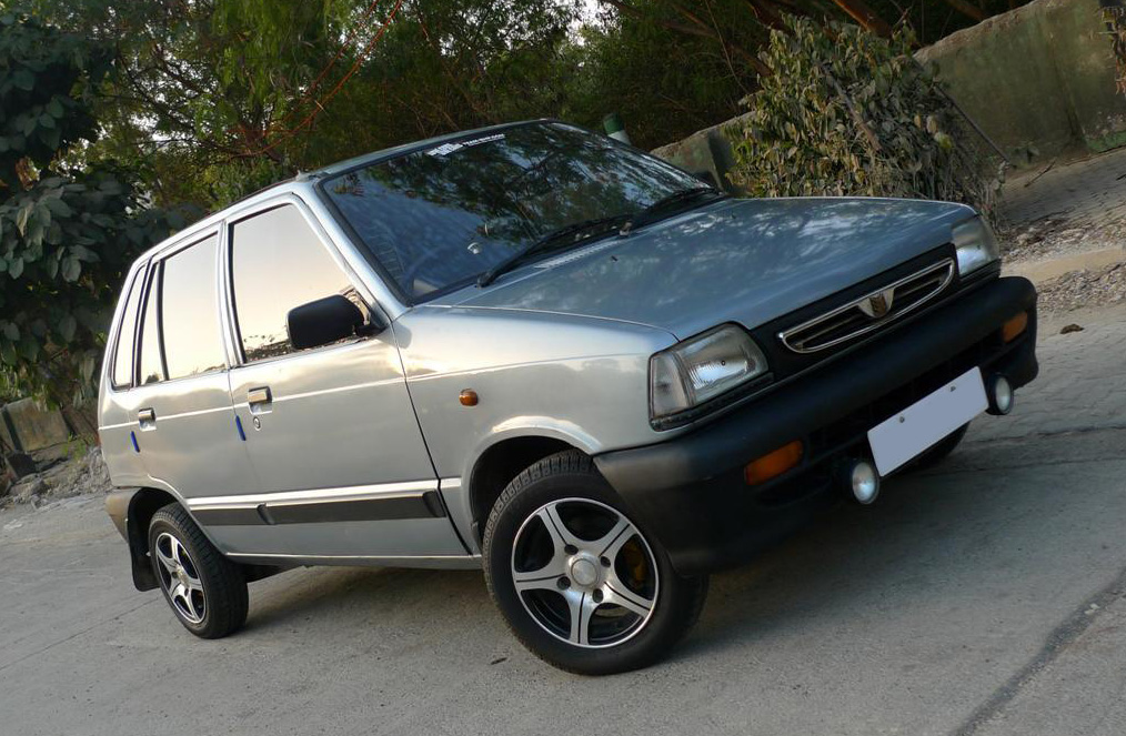 Used Suzuki Mehran for PKR 9.5 lac 5