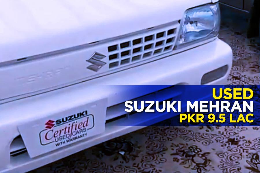 Used Suzuki Mehran for PKR 9.5 lac 1