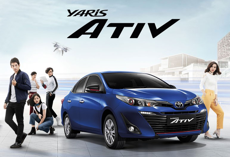 31 thousand units of toyota yaris ativ sold within a year in thailand
