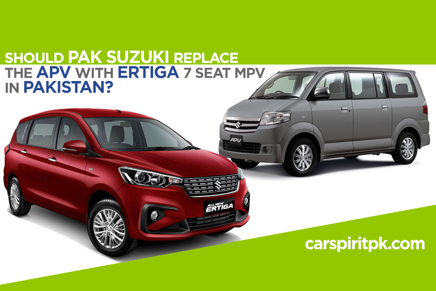 Pak Suzuki Should Replace the APV with New Ertiga 1