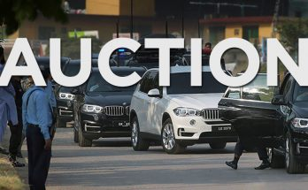 Federal Govt Puts Excessive PM House Vehicles on Auction 2