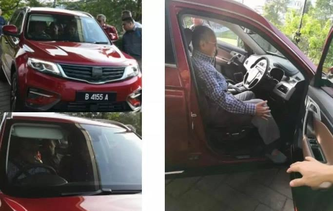 More Information on Geely-based Proton SUV 2