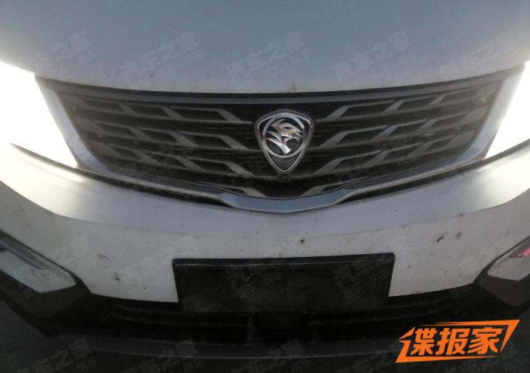 First Spy Shots: Proton SUV 4