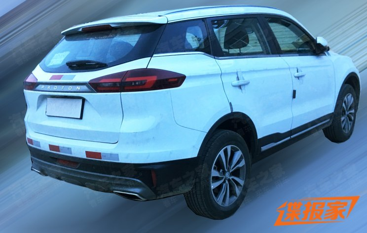 First Spy Shots: Proton SUV 3