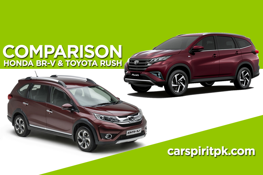 Comparison: Toyota Rush and Honda BR-V 2