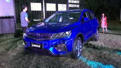 Geely SX11 BinYue Revealed to Media Ahead of Launch 5