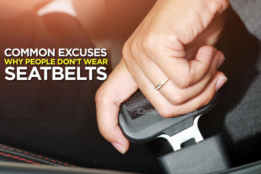 Common Excuses: Why People Don't Wear Seatbelts 5
