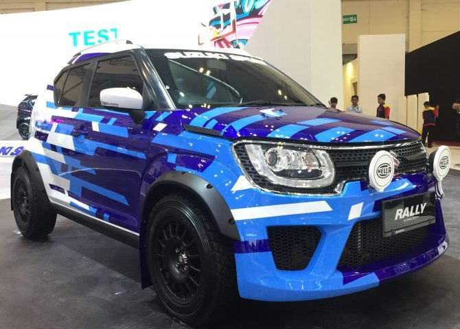 Suzuki Ignis Rally Concept and Sport Concept at GIIAS 2018 5