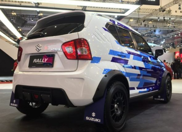Suzuki Ignis Rally Concept and Sport Concept at GIIAS 2018 3