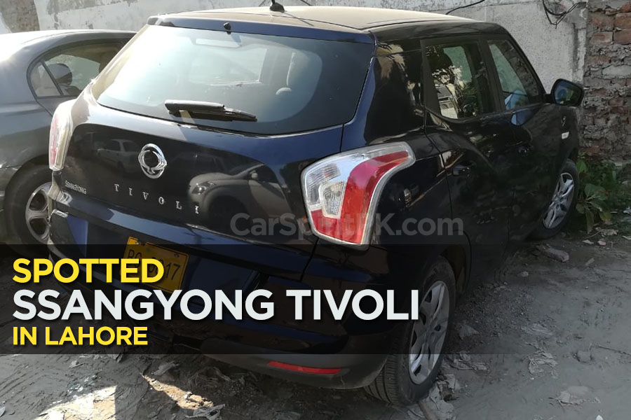 SsangYong Tivoli Spotted in Lahore 1