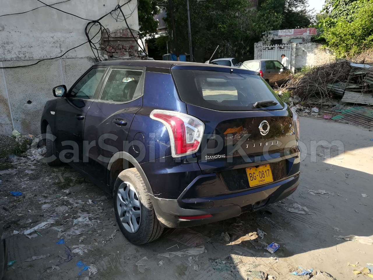 SsangYong Tivoli Spotted in Lahore 3