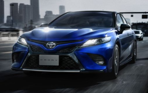 Toyota Launches the Camry Sports in Japan 4