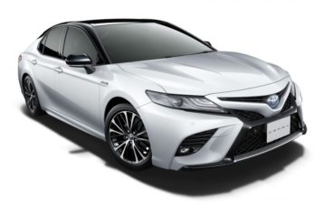 Toyota Launches the Camry Sports in Japan 11