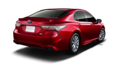 Toyota Launches the Camry Sports in Japan 12