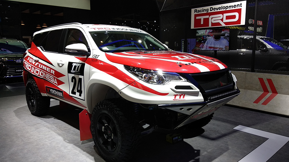 310hp/ 750Nm Rally-Spec Toyota Fortuner Showcased at GIIAS 2018 1