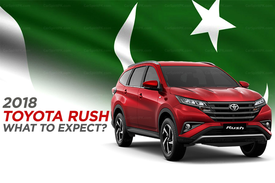 Toyota Rush in Pakistan- What to Expect? 1