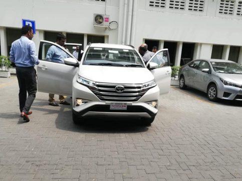 Toyota Rush Reaches Pakistan 3
