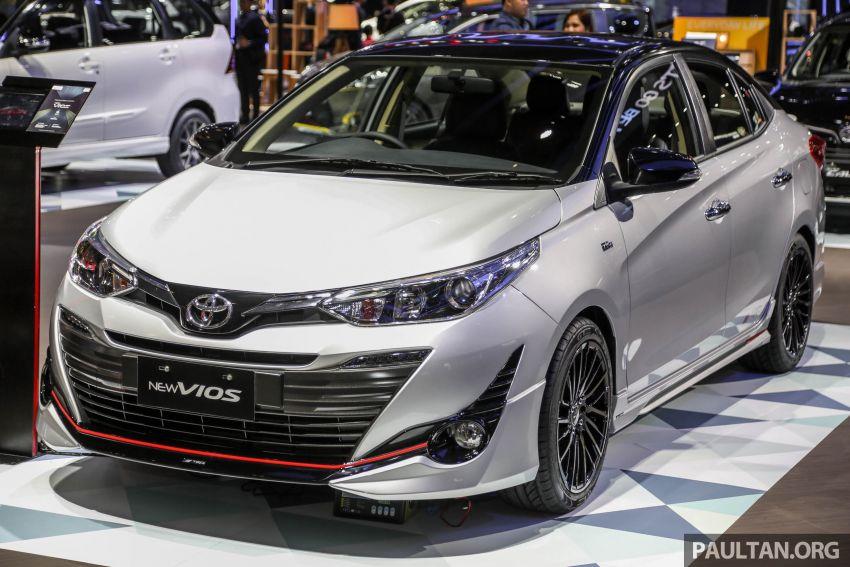 Toyota Vios TRD at GIIAS 2018 3