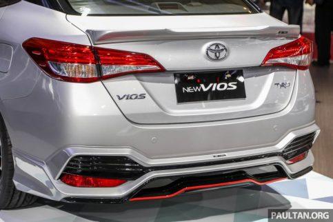 Toyota Vios TRD at GIIAS 2018 13