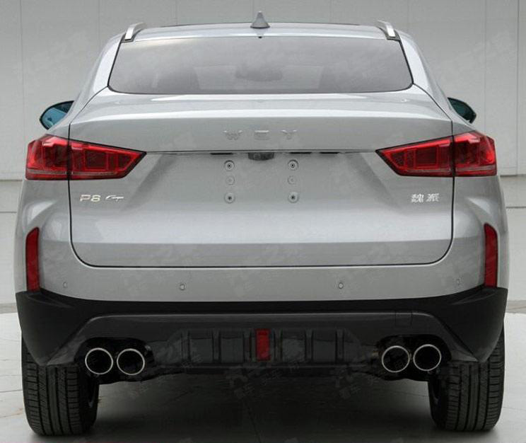 WEY P8 GT- Another Coupe SUV from China 2