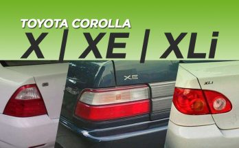 X, XE, XLi- The Most Popular Corolla Grades in Pakistan 9