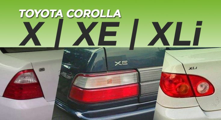 X, XE, XLi- The Most Popular Corolla Grades in Pakistan 6