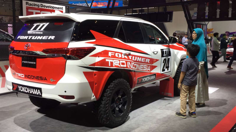 310hp/ 750Nm Rally-Spec Toyota Fortuner Showcased at GIIAS