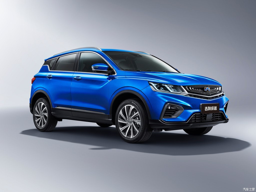 Geely SX11 Crossover Named as BinYue in China 1