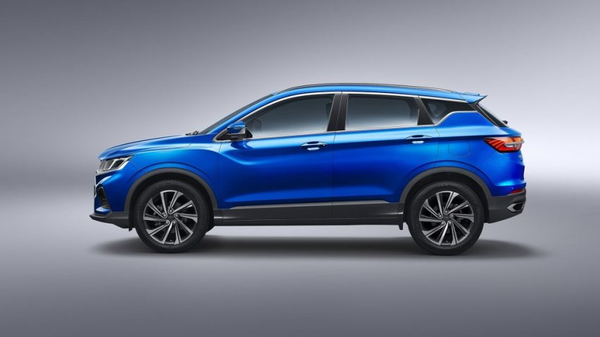 Geely SX11 Crossover Named as BinYue in China 8