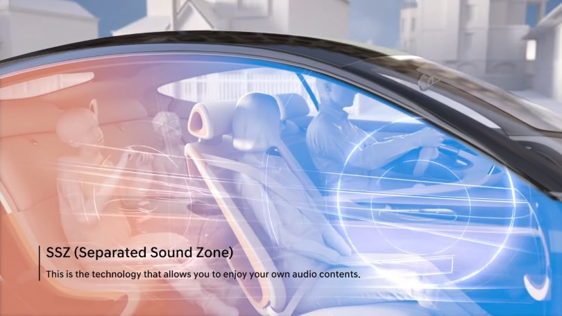 Kia Creates Separate Sound Zones Inside a Car 1
