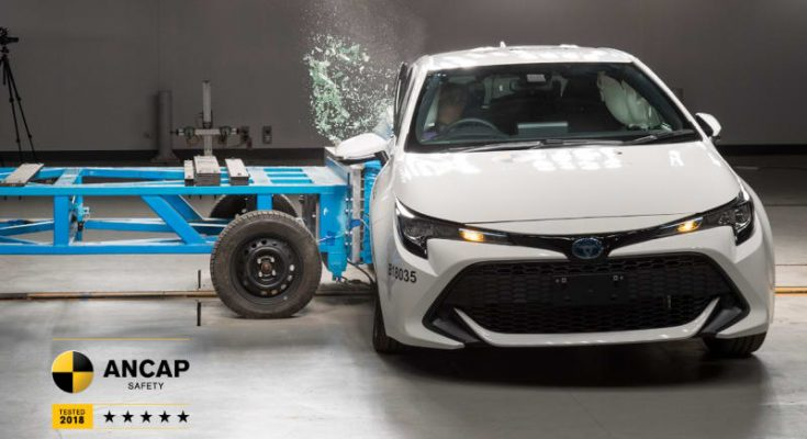 2019 Toyota Corolla Gets 5 Star ANCAP Crash Test Rating 1