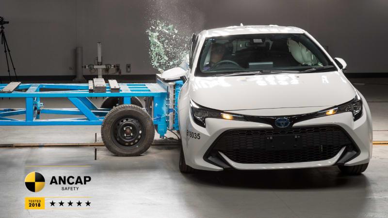 2019 Toyota Corolla Gets 5 Star ANCAP Crash Test Rating 3