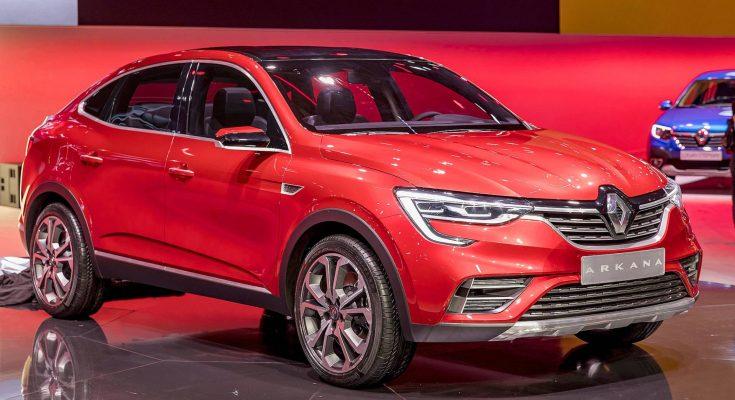 Renault Arkana Revealed at 2018 Moscow International Motor Show 1