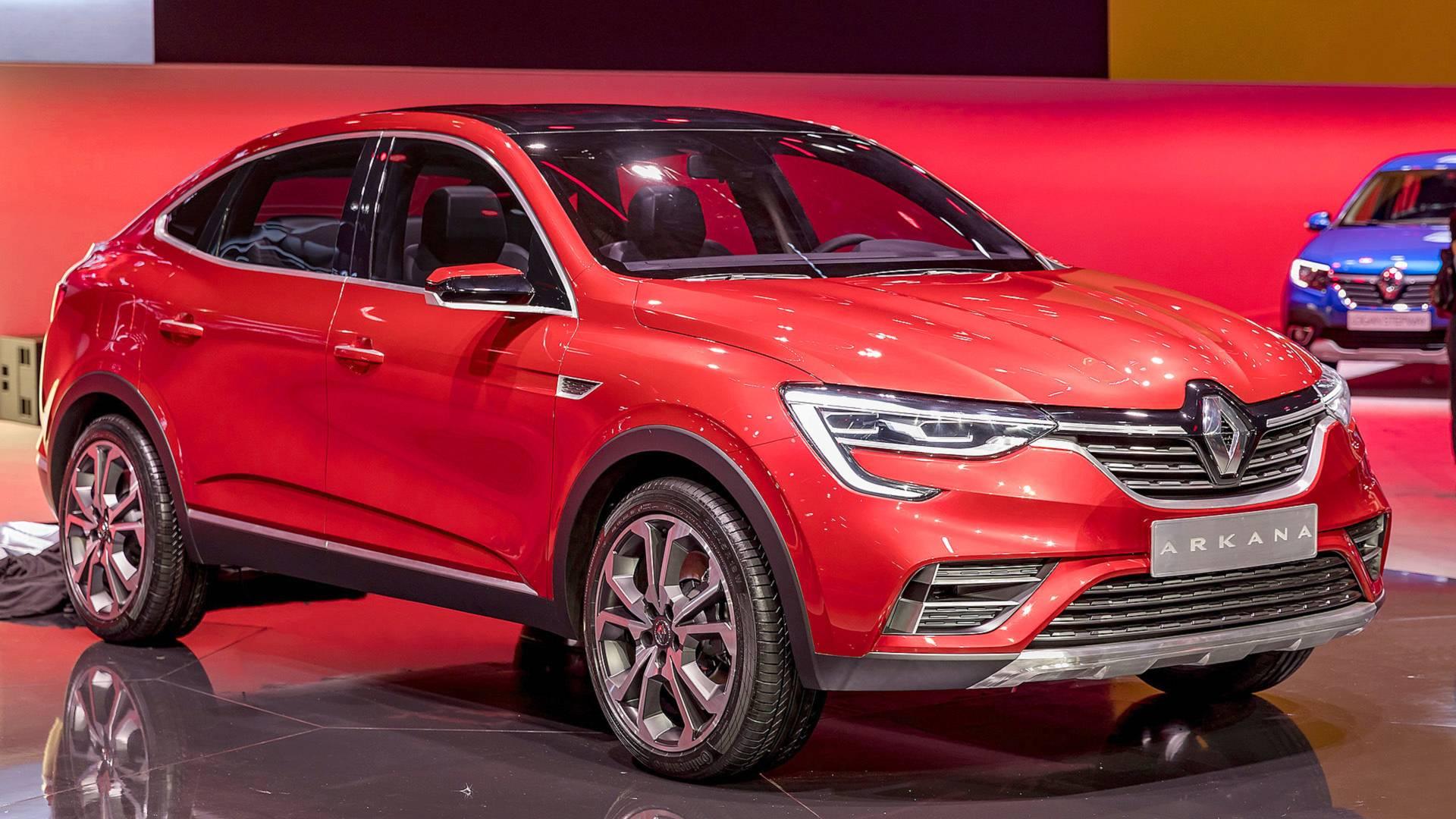 Renault Arkana Revealed at 2018 Moscow International Motor Show 9
