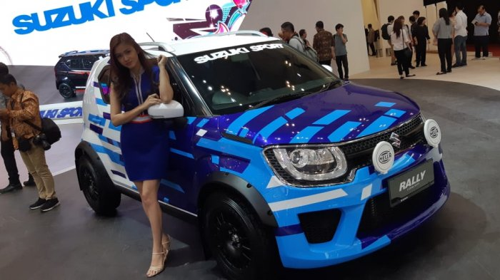 Suzuki Ignis Rally Concept and Sport Concept at GIIAS 2018 1