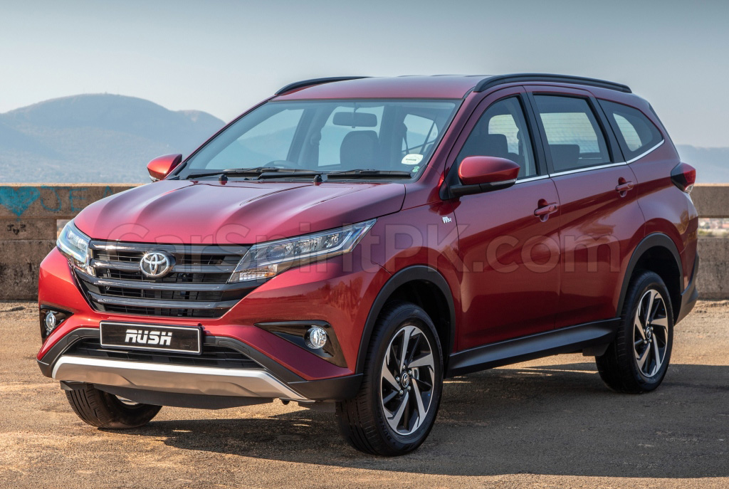 Comparison: Toyota Rush and Honda BR-V 6