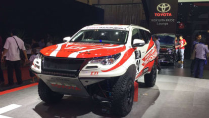 310hp/ 750Nm Rally-Spec Toyota Fortuner Showcased at GIIAS 2018 2