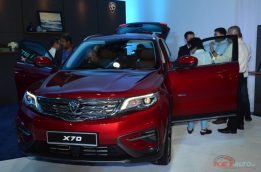 Proton Officially Unveils the Geely Boyue-Based X70 SUV 12