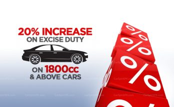 Excise Duty on 1800cc & Above Cars Increased to 20% 13