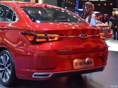 Chery Arrizo GX at 2018 Chengdu Auto Show 14